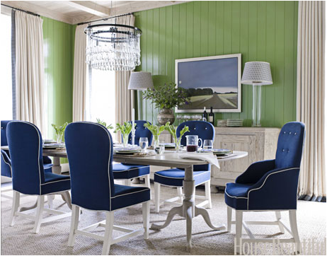 Blue And Green Dining Room All Blog Custom