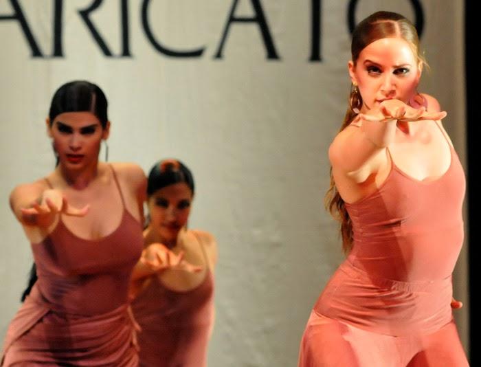 Compañía Lizt Alfonso en la gala de entrega de los Premios Caricato 2013, que otorga la Asociación de Artistas Escénicos de la Unión de Escritores y Artistas de Cuba, realizada en la Sala Covarrubias del Teatro Nacional, en La Habana.