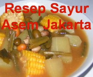 Resep Sayur Asem Jakarta Segar dan Nikmat