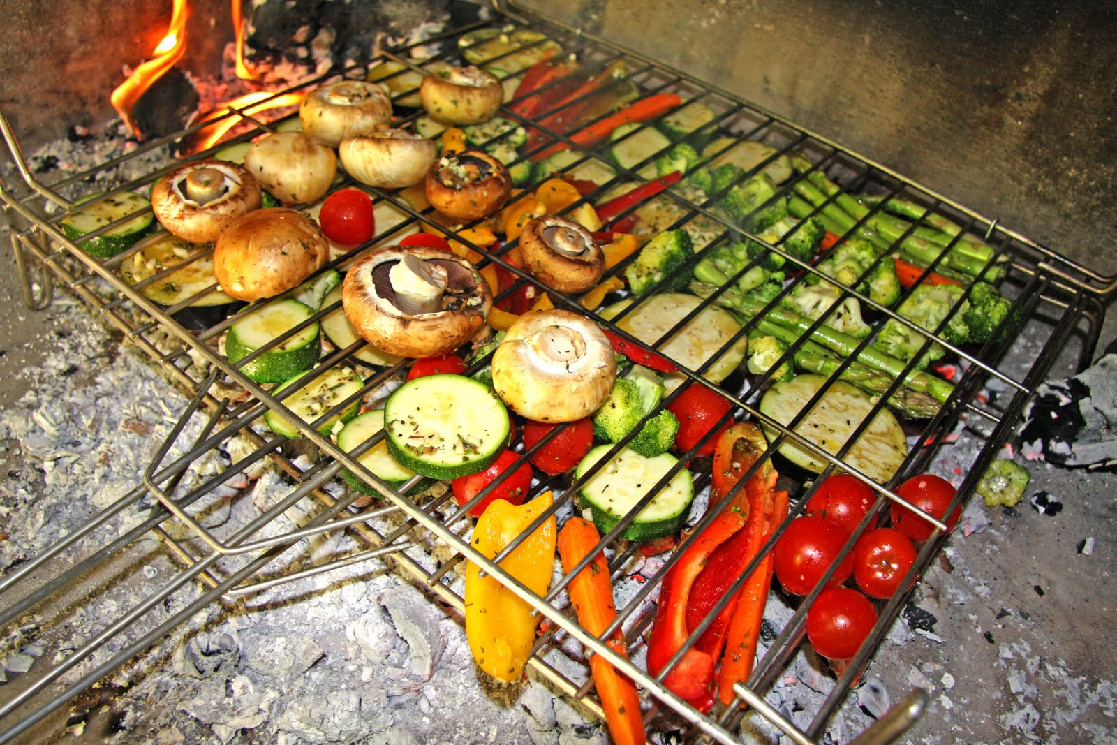 Cookbook verduras marinadas cocinadas a la parrilla for Parrilla para la casa