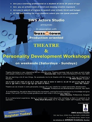 Theatre & Personality Development Workshop
