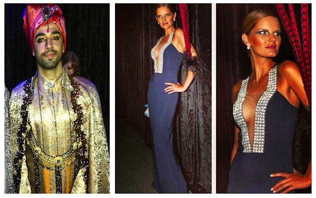a filha do chefe marcelle Bittar modelo pedro lourenço vestido baile da vogue 2013
