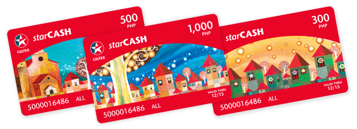 Caltex StarCash Christmas Fuel Cards