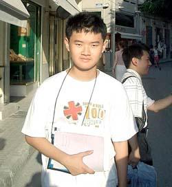 數學奇才 蔡政江