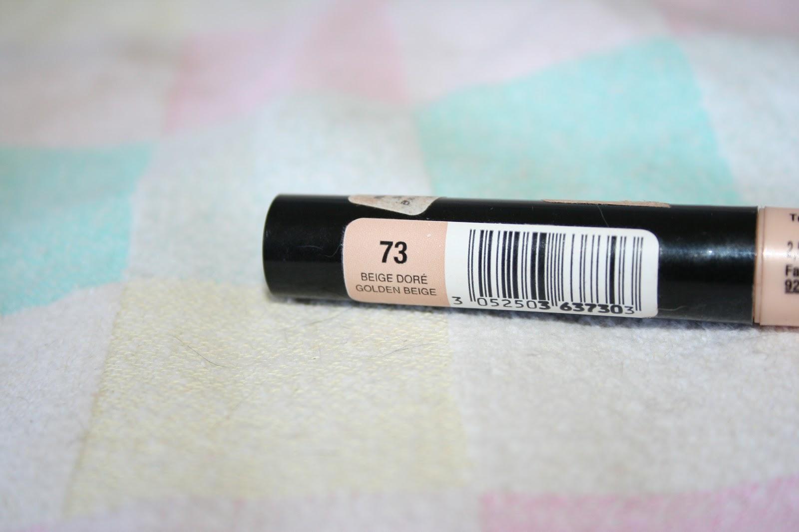 lexy 39 s make 39 up 123 perfect bourjois concealer 73 beige dore. Black Bedroom Furniture Sets. Home Design Ideas