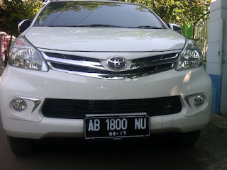 Pengecekan Mobil Avanza AB 1800 NU Balikpapan