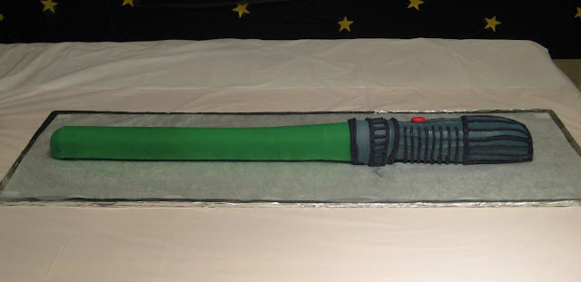 Star Wars 3D Lightsaber Cake - View 1