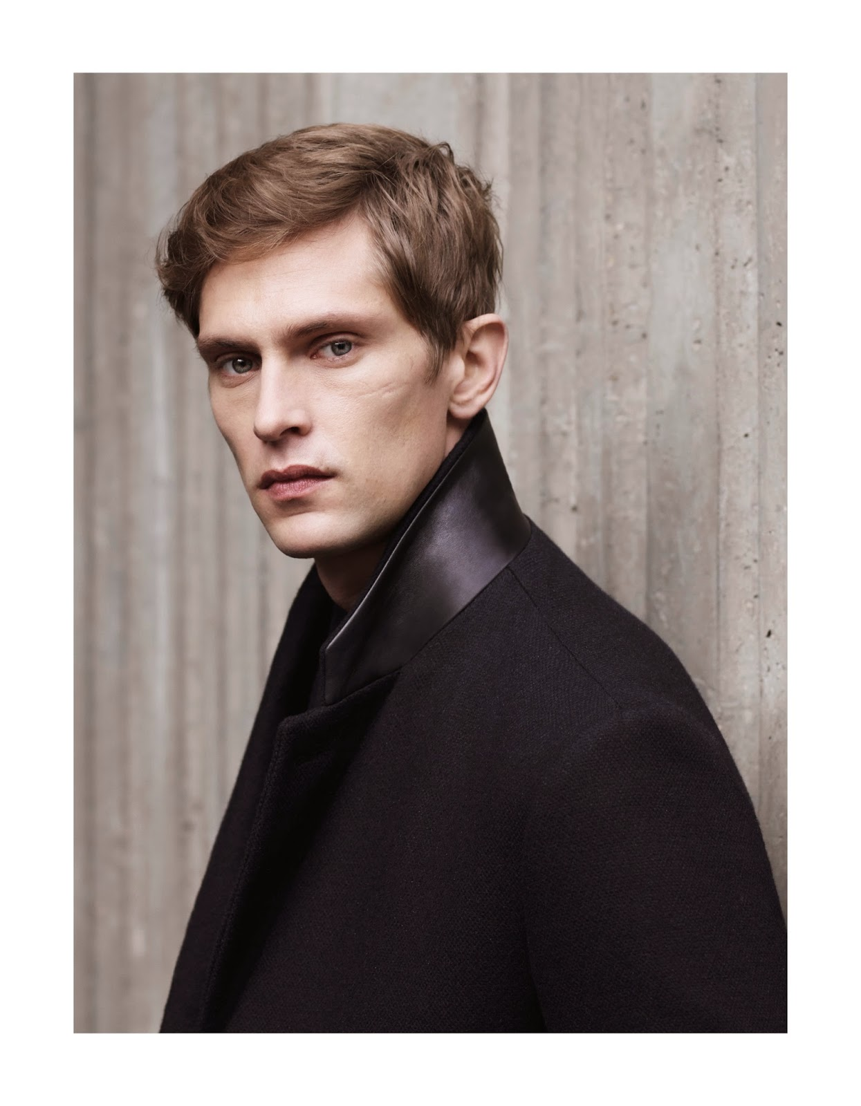 Filippa K Fall/Winter 14 15 black coat