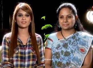 TRS Kavitha in Kathi Karthika Show