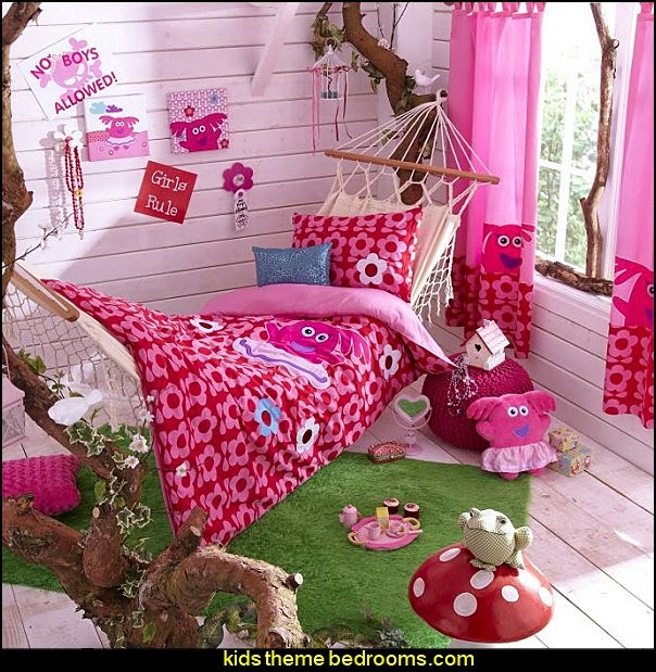 No Boys Allowed Girls Theme Bedroom Decorating Ideas Fun Theme Bedroom Ideas