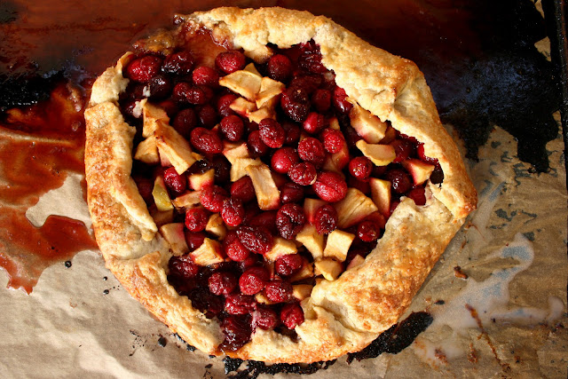 Cranberry-Lime Galette