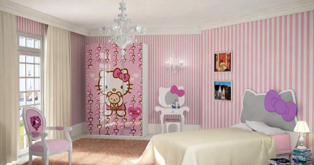 desain ruang kamar tidur minimalis untuk anak perempuan