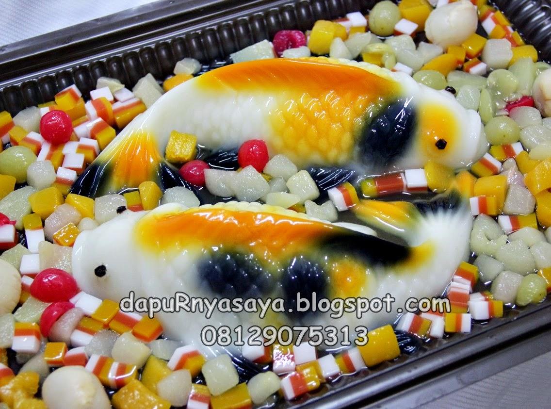 Puding Ikan KOI