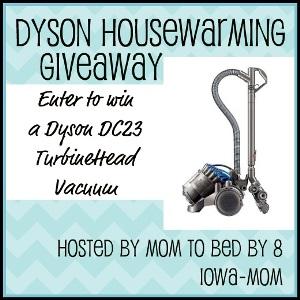 Dyson Housewarming Giveaway