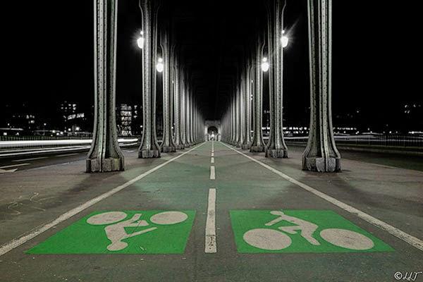 Велодороги в Париже