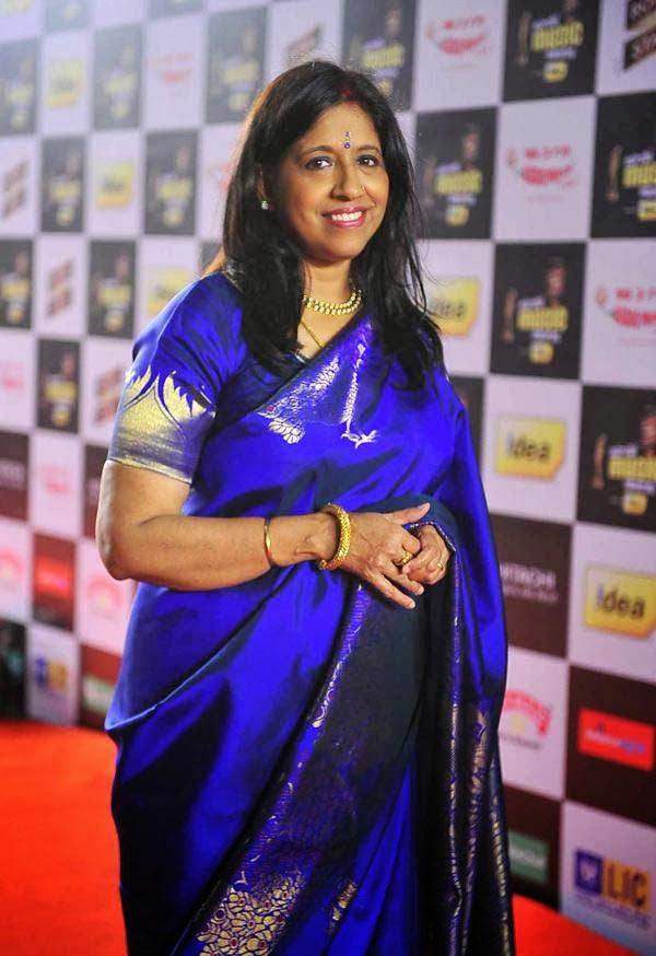 Kavita Krishnamurthy at Mirchi Music Awards 2014