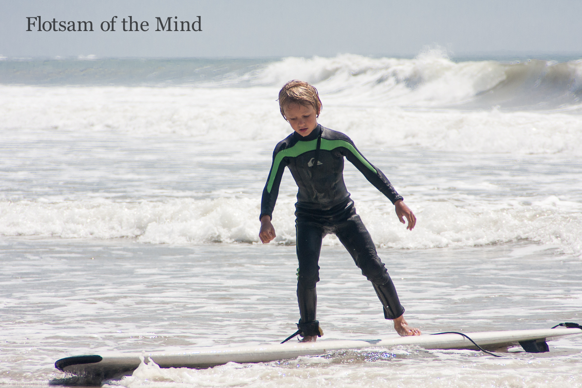 Littlest Surfer - Flotsam of the Mind