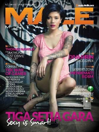 Download Majalah MALE Mata Lelaki 046 - Tiga Setia Gara