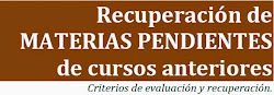 RECUPERACIÓN DE PENDIENTES