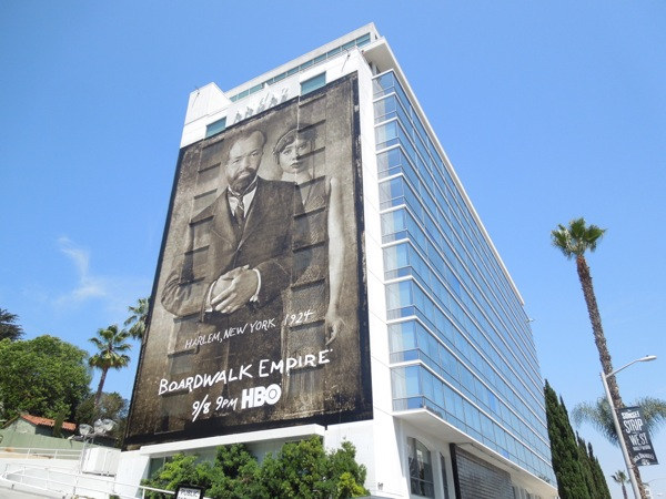 Giant Boardwalk Empire season 4 billboard andaz