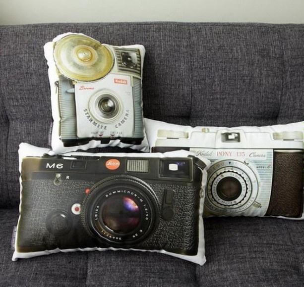 imagens, items, criatividade, design, arte criativa, design criativos, 24 items que faltam na sua casa, items que faltam para a sua casa ficar mais divertida, eu adoro morar na internet, almofada camera digital