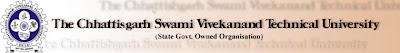 CSVTU 2013 Exam Timetable