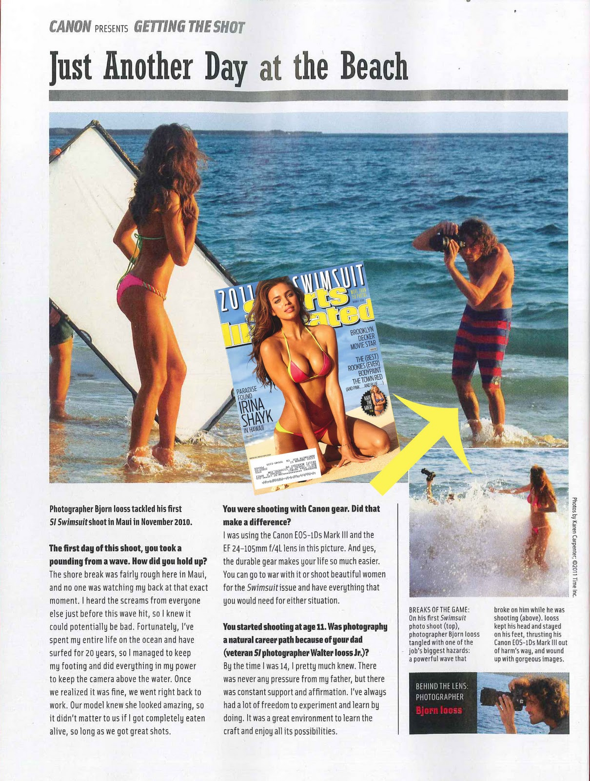 Quiksilver PR: Quiksilver Boardies in SI Swimsuit Edition