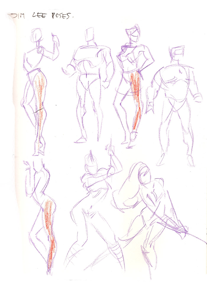 Lets Animate Study Jim Lee