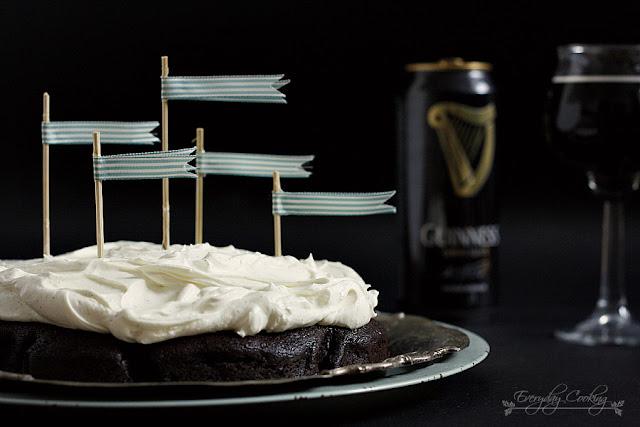 Ciasto czekoladowe na Guinness'ie