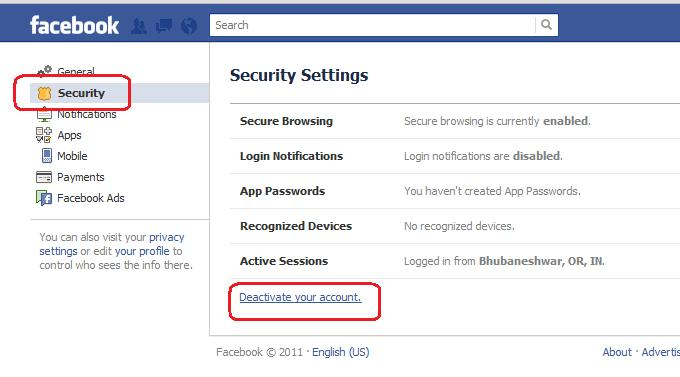 How to delete or deactivate facebook account sureshmp3 now provide the reason of your deleting the facebook account on the open window 7 you will also find various check boxes asking whether you want to delete ccuart