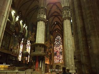 Vista del Interior de la Catedral de Milan