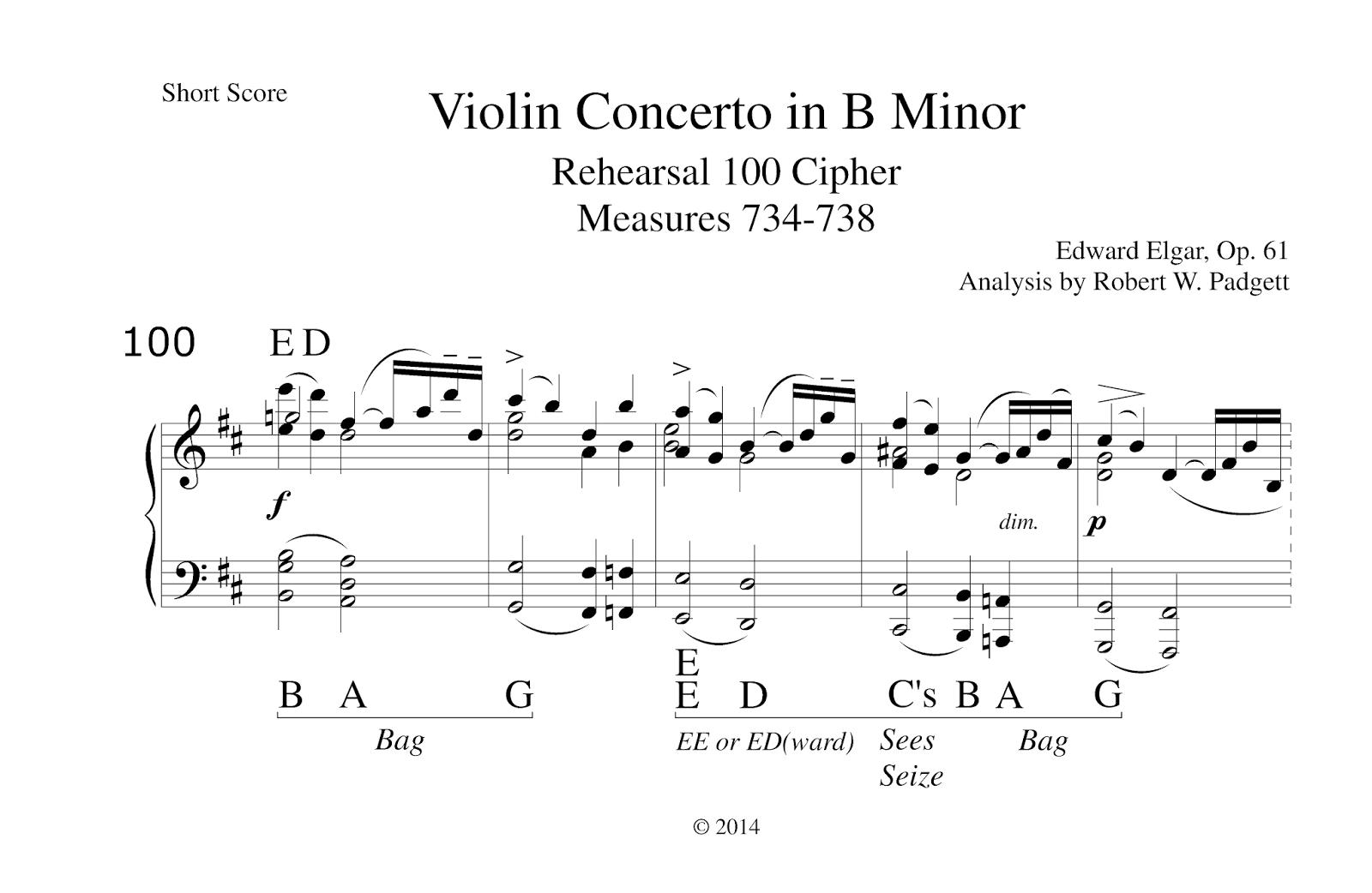 dramatic essay sheet music violin