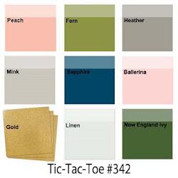 Color Challenge #342 TicTacToe