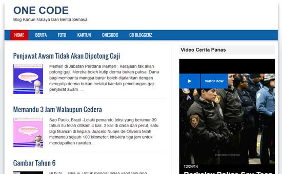Blog Kartun Malaya Perlukan Pendedahan