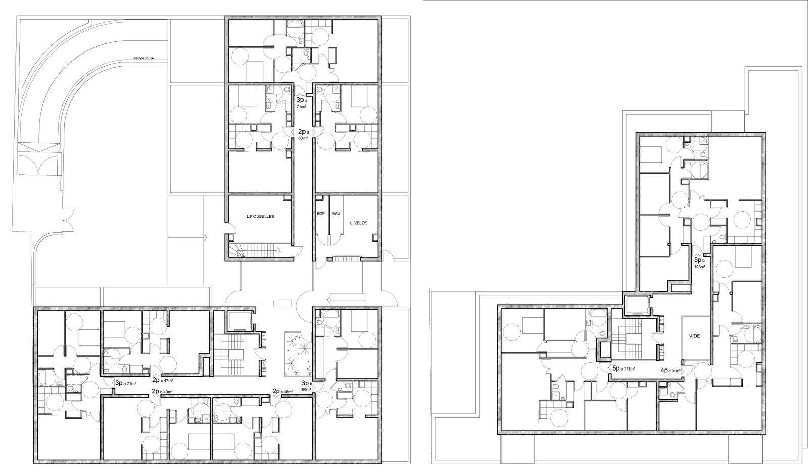 archicop groupe logements collectifs thpe vineuil. Black Bedroom Furniture Sets. Home Design Ideas