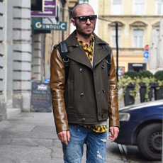 Man's Casual Style: How To Wear White Sneakers , Mate Rončević stil, PRiredba Studio