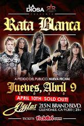 "RATA BLANCA EN EL ""GIGGLES NIGHT CLUB"" (EE.UU.) - 09/04/2015"