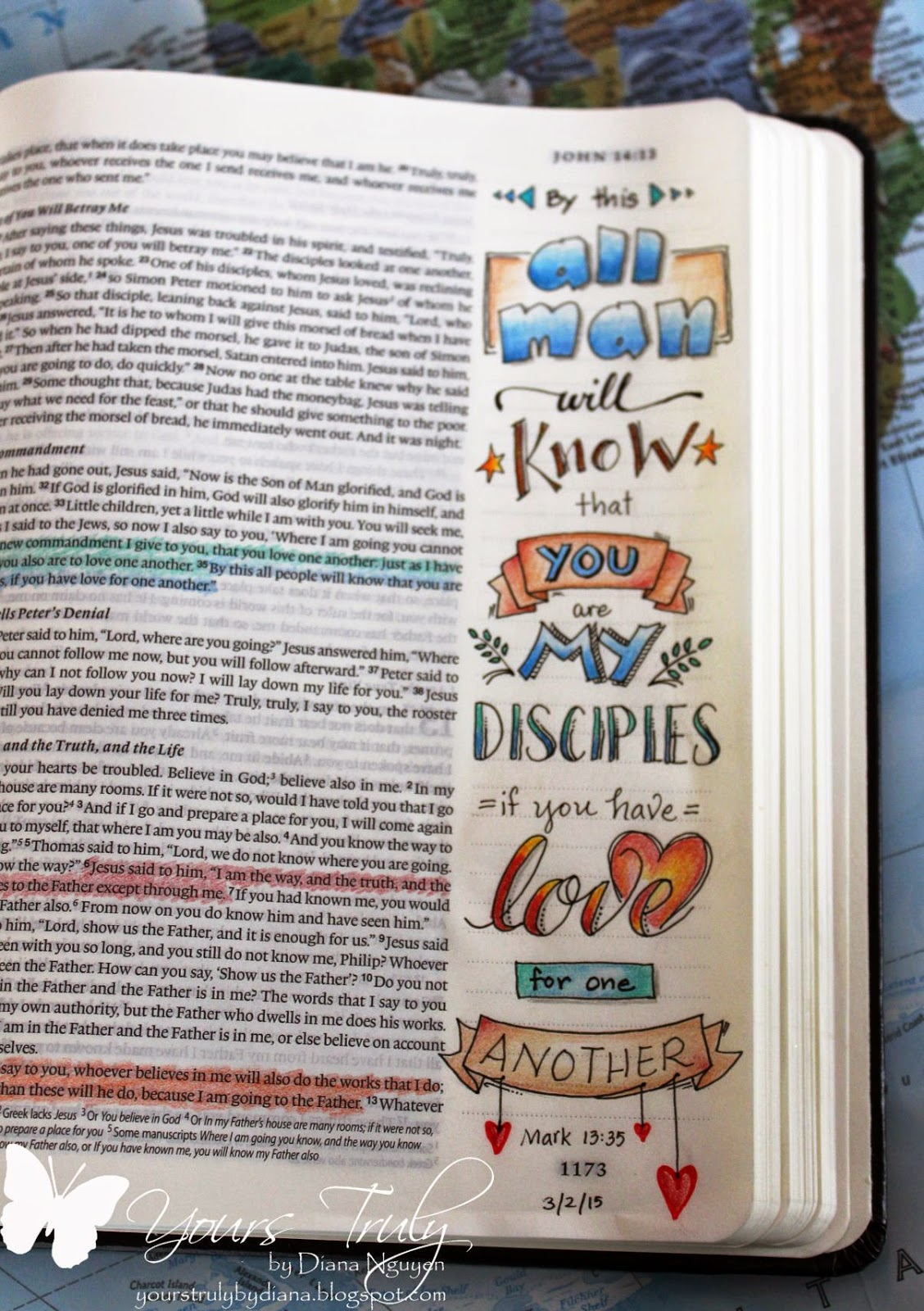 Diana Nguyen, journaling, Bible, illustrated faith