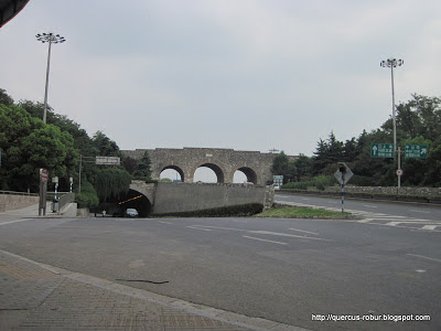 Zhongshan Gate in Nanjing