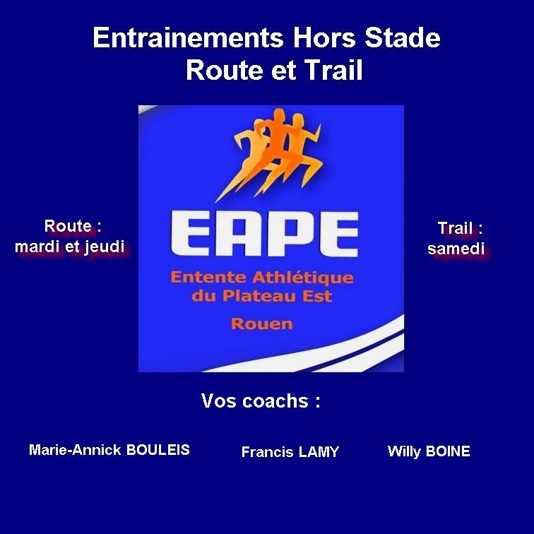 Team EAPE Hors stade et Trail