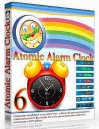 برنامج atomic alarm clock 2015 لتغير شكل الساعه للكمبيوتر اخر اصدار