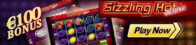 Sizzling hot online bonus - 100 Euro