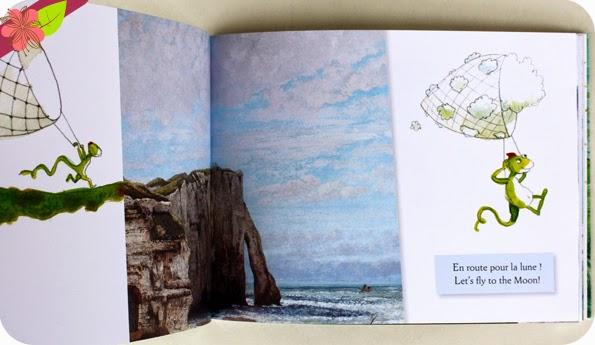 """""""Nuages - Clouds"""" de Hélène Kérillis et Stéphane Girel - éditions Léon art & stories"""