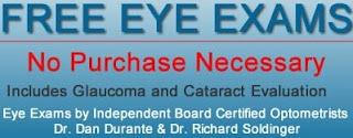 Free Eye Exam 2013
