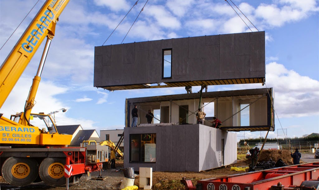 Construcci n con contenedores crossbox - Contenedores vivienda precio ...