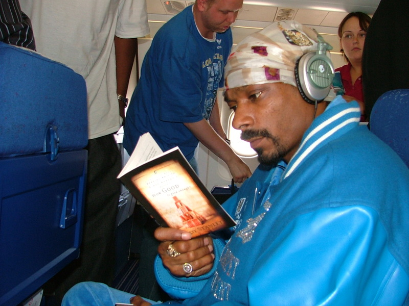 ... love for books and the art of writing. It's good to see Snoop reading