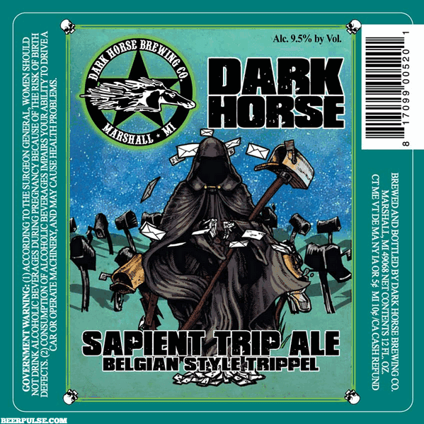 Image result for dark horse sapient trip ale