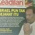 Saifuddin Nasution Kata Israel Tak Jahat...