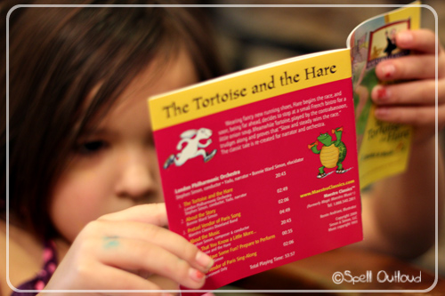 The Tortoise and the Hare booklet