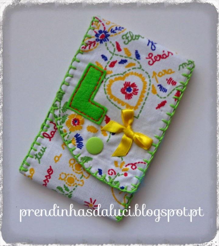 bolsa para telemóvel lenço dos namorados